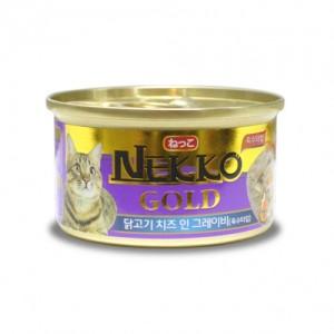네코 골드 닭고기&치즈 고양이캔 85g가격:1,500원