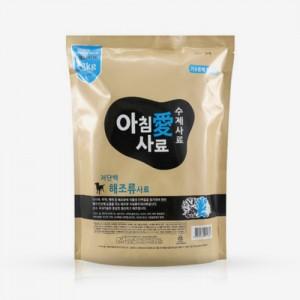아침애 수제사료 저단백 해조류 강아지사료 1.8kg가격:31,000원
