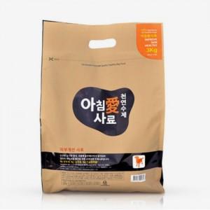 아침애 수제사료 피부개선 강아지사료 3kg가격:51,000원