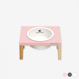 펫니처 1구 강아지 고양이 식기 /화이트,그레이,핑크가격:36,000원