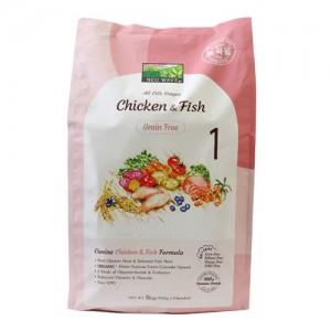 뉴웨이브 그레인프리 치킨&피쉬 강아지사료 5kg가격:45,000원