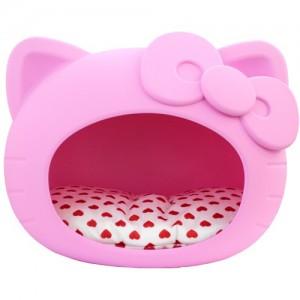 퍼셀 강아지 고양이 펫하우스 (방석포함) /화이트,스카이블루,핑크,퍼플,오렌지가격:140,000원