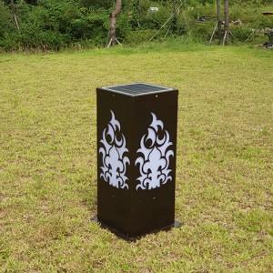BD-GAYA LED 태양광 볼라드 (봉수대)조명등 주차장 정원등 공원 행사장안내 테라스 옥외 실외 야외