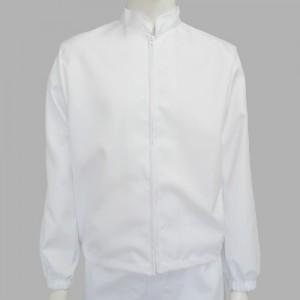 HACCP위생복 상의-폴리유니폼 단체복 근무복 현장복 남녀공복 조리복 화이트 주방 사계절 봄 여름 가을 겨울