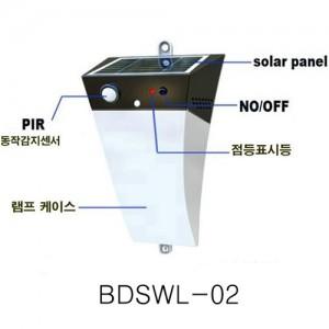 BDSWL-02 태양광 LED 벽등