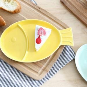 쁘아송 물고기 접시 파스텔