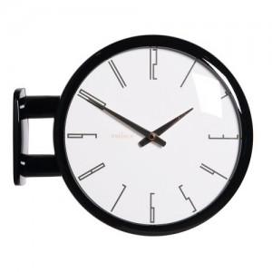 모던 양면벽시계 (블랙) /Morden Double Clock A7(BK)