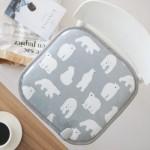 [바이빔] 북극곰 전기방석 1인용