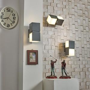 LED 1938 큐브 벽등