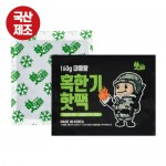 [국산] 핫데이핫팩 혹한기형160g 스티커포함