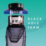 블랙홀팜 모기해충퇴치기 대용량 / 축사등대용량,축사용,해충퇴치,공기정화기능