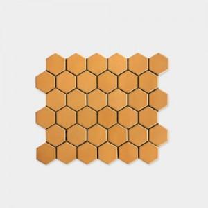 모자이크 타일 육각 오렌지 22HE-6233 3BOX