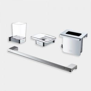 [FH0600] CUBE-P 액세서리 4품 수건걸이,휴지걸이,칫솔꽂이 비누대