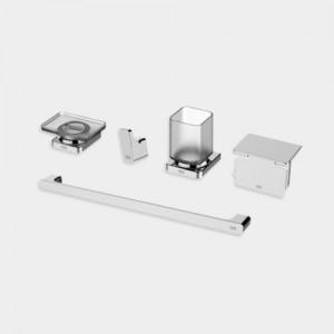 [FH1051] 플랫 욕실 액세서리 5품(5종) 세트