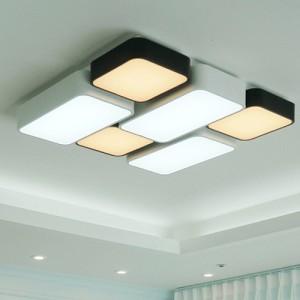 [W-L-L-0062]블록6등 LED색변환 거실등