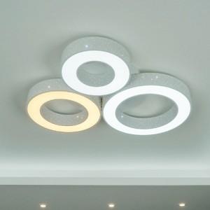 [W-L-L-0063]스타원3구 LED색변환 거실등
