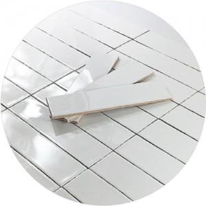 직사각 유광 (75x300mm) 자기질 타일