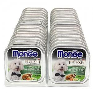[BOX32개입] Monge 몬지 강아지사각캔 100g 치킨야채가격:48,000원