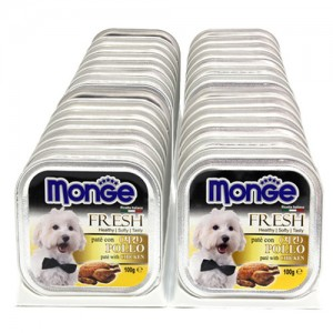 [BOX32개입] Monge 몬지 강아지사각캔 100g 치킨가격:48,000원