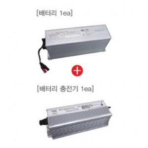 LED 건설용 조명 배터리&충전기 세트