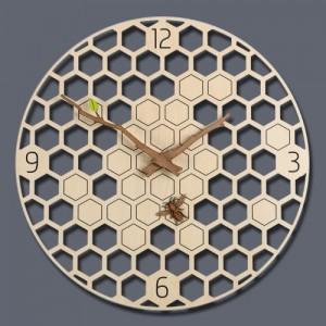 허니비 벽시계 (Honey Bee Clock)