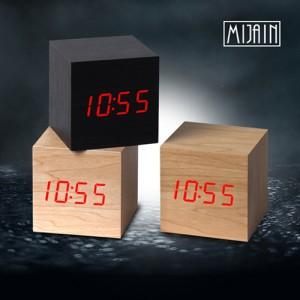 레드 LED나무시계(소)