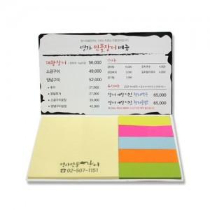 국산정품 드림 점착메모지 (수첩형 018)가격:338원