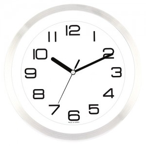 270알류미늄 투명벽시계