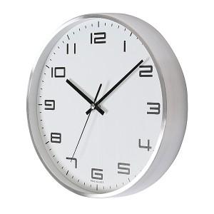 심플알류미늄벽시계300
