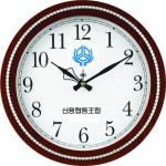 320-크롬줄 링벽시계
