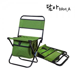 담아 수납형 접이식 캠핑의자