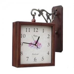 원목사각양면시계