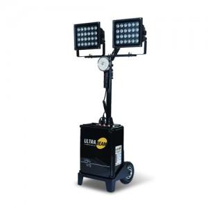 ULTRA-8000 (DC 전용) LED 투광기 24W X 2 (12시간 사용)