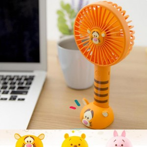 디즈니 캐릭터 핸디 미니 선풍기 휴대용선풍기 풍속 3단계조절 탁상용