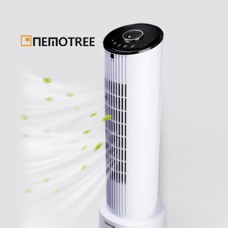 네모트리 타워팬 냉풍기 NE-TW100 쿨타워/좌우상하 회전가능/여름철 필수 강력한 풍량/청소가쉬운/자연모드/수면모드/분리구조/초절전