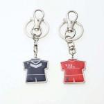 티셔츠 양면 메탈 열쇠고리