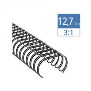 3:1 와이어 12.7mm(100매)/100개/34홀