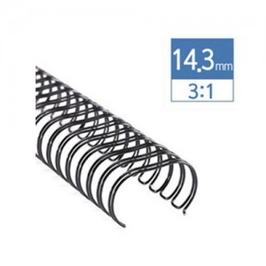 3:1 와이어 14.3mm(120매)/100개/34홀