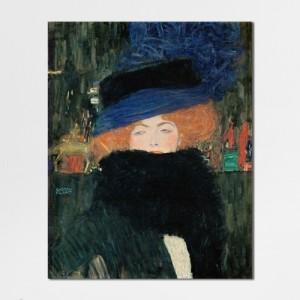 [캔버스액자] 클림트_모자와 깃털 목도리를 한 여인가격:39,000원