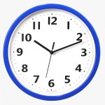 250칼라심플벽시계