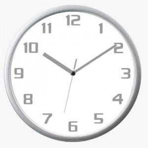 300실버벽시계