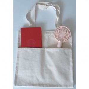 국산정품 드림 앞주머니 에코가방 (중)에코백 캔버스백 다용도가방 보조가방 천가방 숄더백