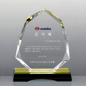 크리스탈 상패 / SD12-021골프 대회 우승 기념 우승패 기념패