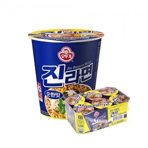 오뚜기 진라면 순한맛 소컵 6개 / 1box