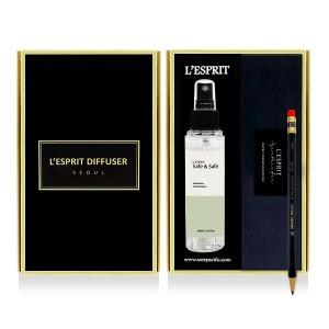 레스쁘리 2P 소독제세트 C (세이프앤세이프(100ml)+0.7 전자동연필)차아염소산 스프레이형소독제 높은살균력 오토펜슬 0.7mm 선물세트