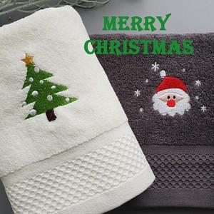 크리스마스 타올 2p세트 (기획상품)