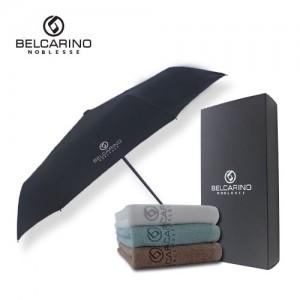 벨카리노 3단 7k 완전 자동 우산 + 130g 타올 세트