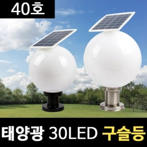 태양광 30LED 구슬등 40호 정원등 호박등