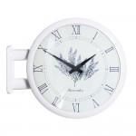 Morden Double Clock Lavender(White)