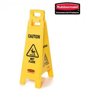 러버메이드 안전표지판 (대)